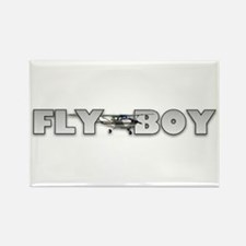 Fly Boy Aviation Rectangle Magnet