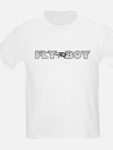 Fly Boy Aviation Kids T-Shirt