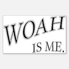 Cool Woah Sticker (Rectangle)