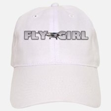 Fly Girl Aviation Baseball Baseball Cap