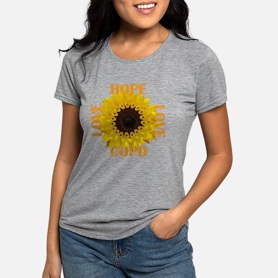 COPD Hope Sunflower T-Shirt
