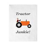 Orange Tractor Junkie Twin Duvet