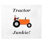 Orange Tractor Junkie King Duvet