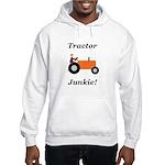 Orange Tractor Junkie Hooded Sweatshirt