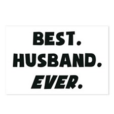 I Love My Worlds Best Husband Ever Postcards (Pack