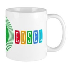 Edsel Bullseye Design - Multi - Horizontal Mugs