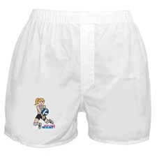 Volleyball Player Light/Blonde Boxer Shorts