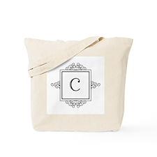Fancy letter C monogram Tote Bag