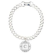 Fancy letter C monogram Bracelet