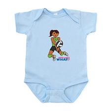 Volleyball Player Dark Infant Bodysuit