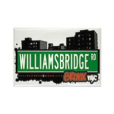 Williamsbridge Rd, Bronx, NYC Rectangle Magnet