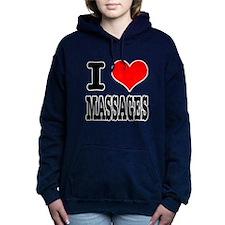 MASSAGES.png Hooded Sweatshirt