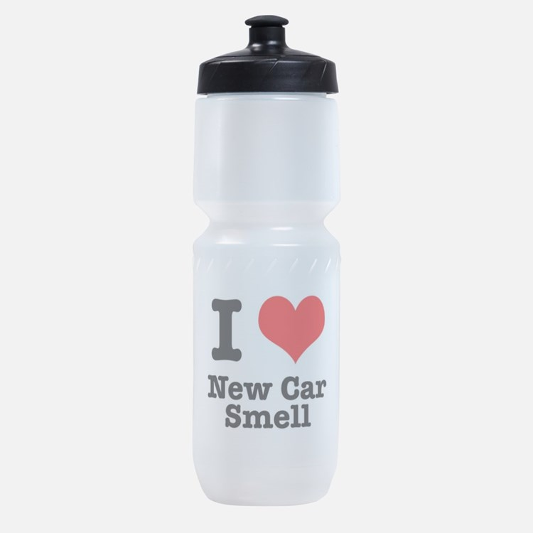 new car smell.png Sports Bottle