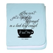 A Cup of Tea baby blanket