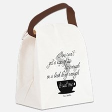 A Cup of Tea Canvas Lunch Bag