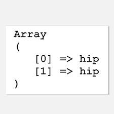 Hip Hip Hooray Programming Array Postcards (Packag