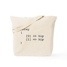 Hip Hip Hooray Programming Array Tote Bag