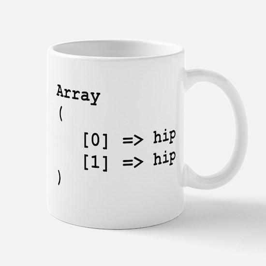 Hip Hip Hooray Programming Array Mugs