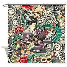 Zen Tatoo - Shower Curtain