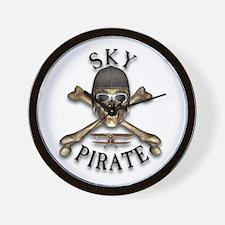 Sky Pirate Wall Clock