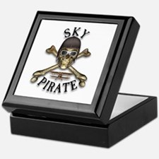 Sky Pirate Keepsake Box