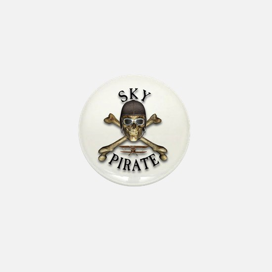 Sky Pirate Mini Button