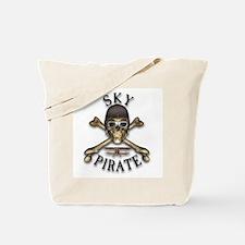 Sky Pirate Tote Bag