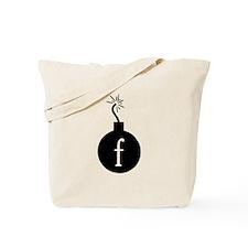 Drop the F Bomb Tote Bag
