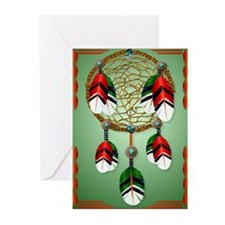 Dream Catcher Greeting Cards (pk Of 10)