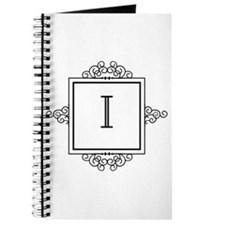 Fancy letter I monogram Journal