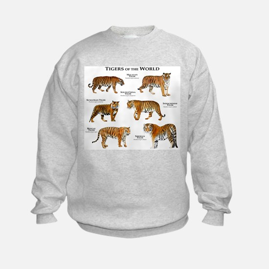 Tigers of the World Sweatshirt