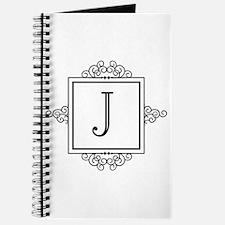 Fancy letter J monogram Journal