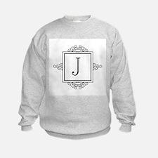 Fancy letter J monogram Sweatshirt