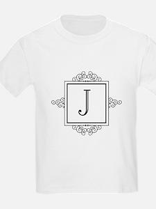 Fancy letter J monogram T-Shirt
