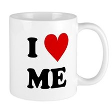I Love Me Heart Mugs
