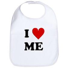I Love Me Heart Bib