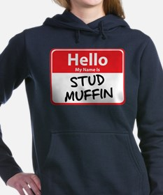 stud muffin.png Hooded Sweatshirt