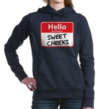 sweet cheeks.png Hooded Sweatshirt