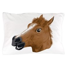 Horse Head Creepy Mask Pillow Case