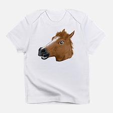 Horse Head Creepy Mask Infant T-Shirt