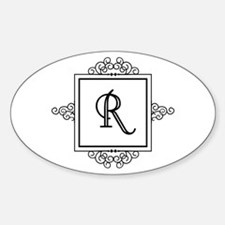 Fancy letter R monogram Stickers