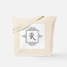 Fancy letter R monogram Tote Bag