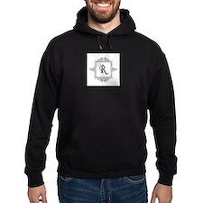 Fancy letter R monogram Hoody