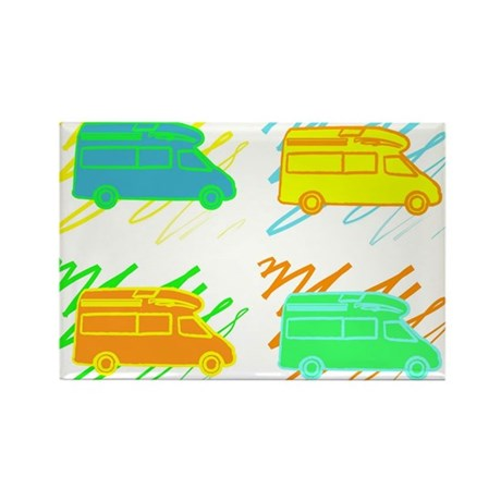 Rectangle Magnet (100 pack)