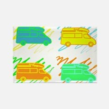 Cute Camp Rectangle Magnet (10 pack)