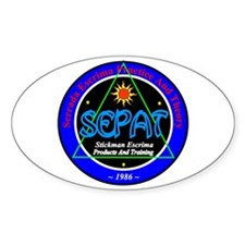 SEPAT Escrima Oval Decal