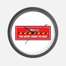 I'm the Mover Wall Clock