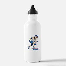 Roller Derby Girl Medium Water Bottle