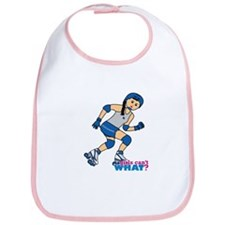 Roller Derby Girl Medium Bib