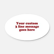 Cool Car Magnets Personalized Cool Magnetic Signs For Cars - Custom euro style car magnets